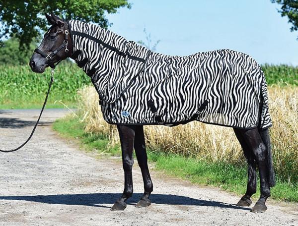 Busse Reitsport  Paddock-Fliegendecke Fly Sheet - Zebra