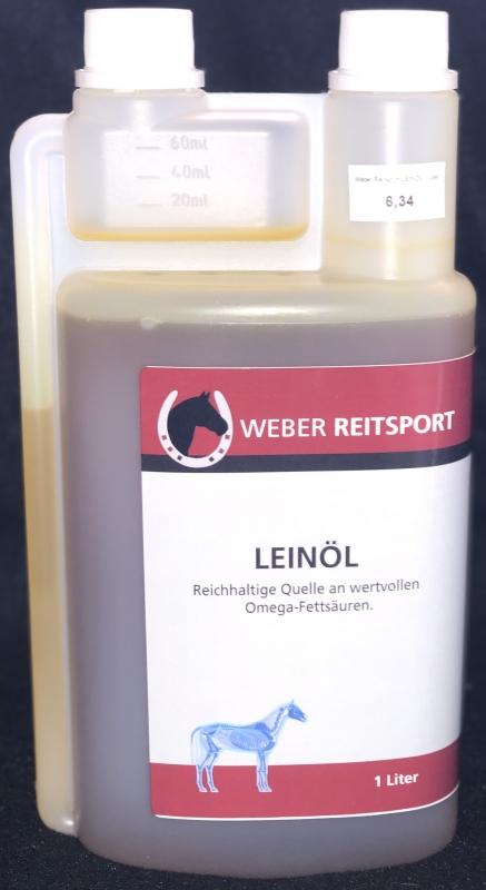 Weber Reitsport - Leinöl 1 Liter