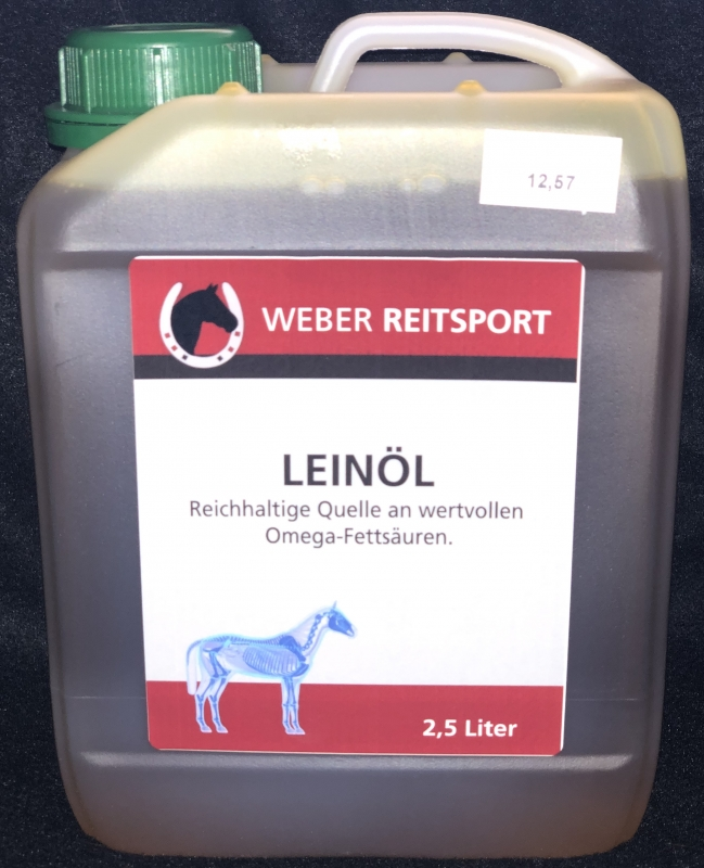 Weber Reitsport - Leinöl 2,5l Kanister