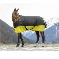 Equittheme - Outdoordecke yellow/black 0gr