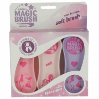 MagicBrush Soft Brush Pferdebürsten Starlight